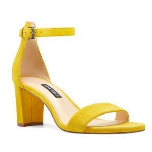 Nine West Pruce Ankle Strap Block Heel!